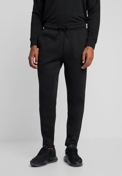 Urban Classics - CUT AND SEW PANTS - Jogginghose - black