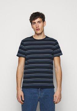 Club Monaco - STRIPE TEE - T-shirt imprimé - navy multi
