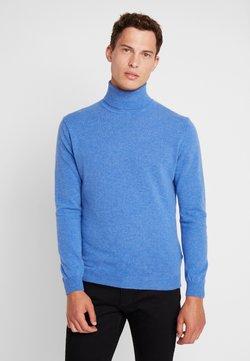 Benetton - BASIC ROLL NECK - Pullover - blue mel