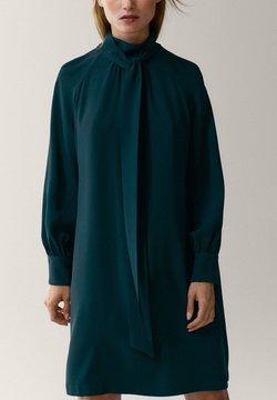 Massimo Dutti - Sukienka koszulowa - green