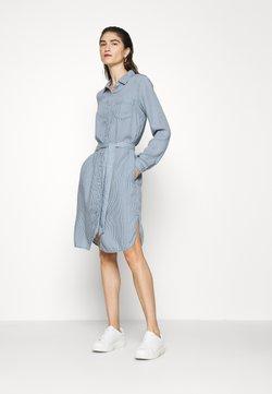 Herrlicher - SKARA DRESS STRIPE - Blusenkleid - indigo