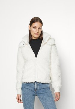 Abercrombie & Fitch - DRAMA CURLY - Fleece jacket - white