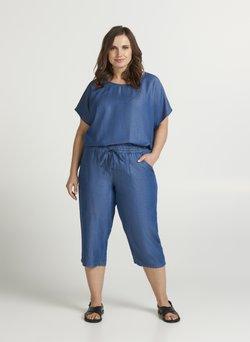 Zizzi - Szorty jeansowe - blue