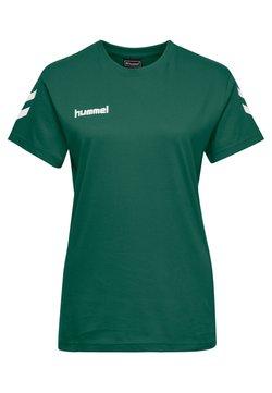 Hummel - GO WOMAN - T-shirt print - evergreen