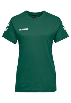 Hummel - HMLGO  - T-Shirt print - evergreen