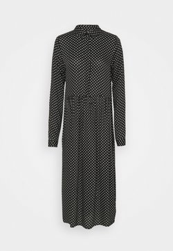 Vero Moda Tall - VMFIE CALF DRESS - Blusenkleid - black