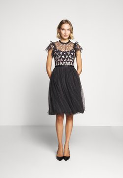 Needle & Thread - ROCOCO BODICE MIDI DRESS EXCLUSIVE - Vestito elegante - graphite