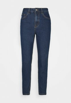 Object - OBJVINNIE MOM - Jeans Relaxed Fit - dark blue denim