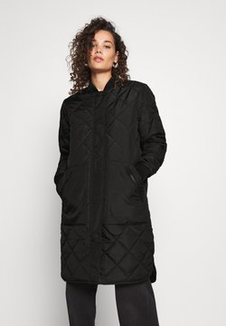 Selected Femme - SLFNATALIA QUILTED COAT - Bombertakki - black