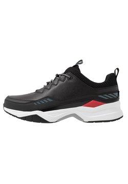 HUGO - BLOCK RUNN - Sneakers laag - black