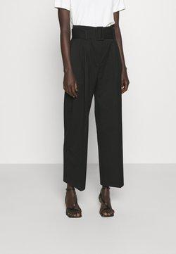 HUGO - HUGESA - Pantalones - black
