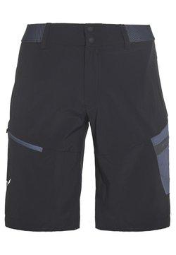 Salewa - PEDROC CARGO SHORTS - Shorts - black out