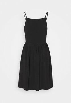 Vero Moda - VMILANE SINGLET SHORT DRESS - Vestido ligero - black