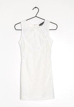 Topshop Petite - Robe de soirée - white