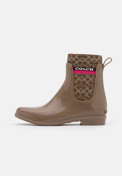 Coach - RIVINGTON RAIN BOOTIE - Wellies - otter