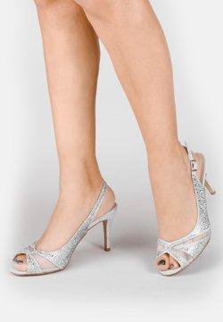 Paradox London Pink - LIBRA  - High Heel Sandalette - silver