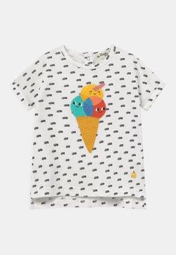 The Bonnie Mob - DAVID UNISEX - T-shirt print - white