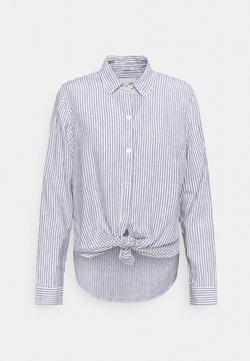 Abercrombie & Fitch - Hemdbluse - blue stripe