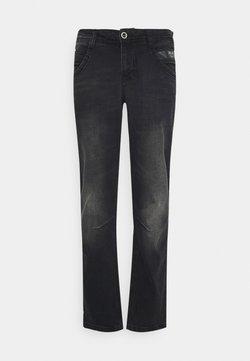 Cars Jeans - TAPERED - Straight leg -farkut - black