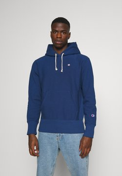 Champion Reverse Weave - HOODED - Hoodie - dark blue