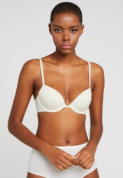 Calvin Klein Underwear - FLIRTY PLUNGE - Push-up BH - ivory