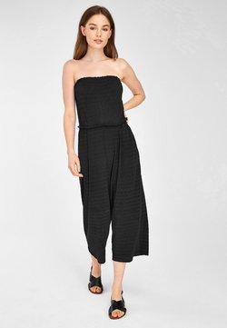 Next - BLACK CRINKLE BANDEAU - Overall / Jumpsuit - black
