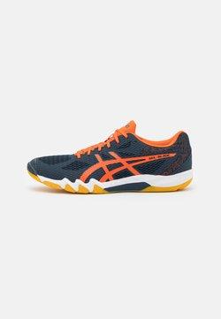ASICS - GEL BLADE 7 - Scarpe da tennis per tutte le superfici - french blue/marigold orange