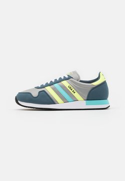 adidas Originals - USA 84 CLASSIC RUNNING SPORTS INSPIRED SHOES UNISEX - Sneaker low - grey/hi-res yellow/clear aqua