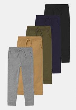 Friboo - 5 PACK  - Spodnie treningowe - black/dark blue/grey