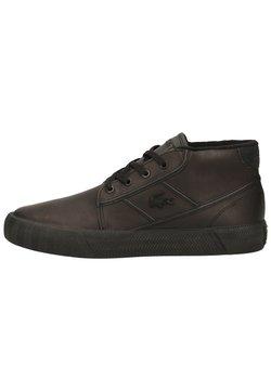 Lacoste - Sneaker high - blk/blk