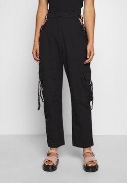 The Ragged Priest - TIME TROUSER - Stoffhose - black