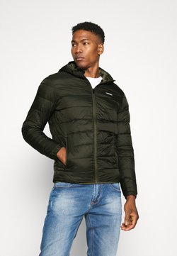 Jack & Jones - JJVINCENT PUFFER HOOD - Winterjacke - rosin