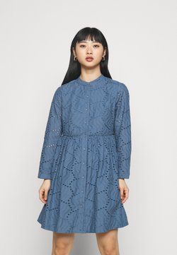 YAS Petite - YASBIM DRESS - Vestido informal - bering sea