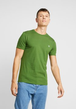 Marc O'Polo - SHORT SLEEVE ROUND NECK - T-Shirt basic - garden green