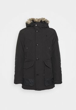 G-Star - VODAN PDD HDD FAUX FUR PARKA - Wintermantel - dark black