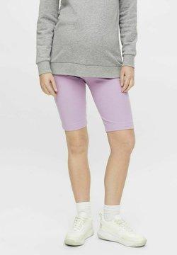 MAMALICIOUS - Shorts - sheer lilac