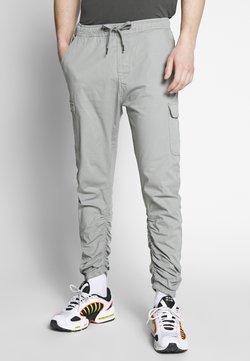 INDICODE JEANS - LAKELAND - Cargo trousers - light grey