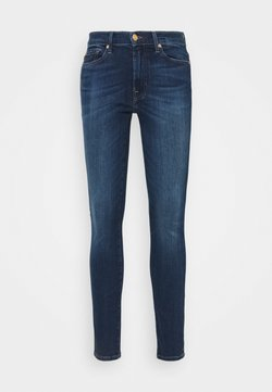 7 for all mankind - CROP ILLUSION NEVER ENDING - Jeans Skinny Fit - mid blue