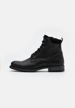 Marc O'Polo - LACE UP BOOT - Schnürstiefelette - anthracite