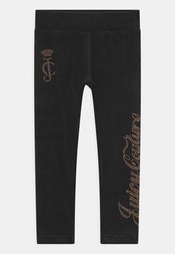 Juicy Couture - LUXE DIAMANTE - Leggingsit - jet black