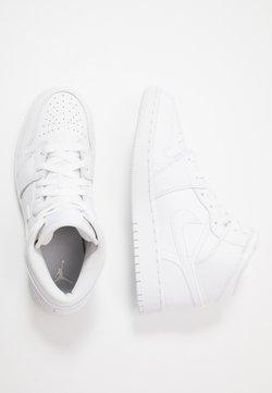 Jordan - AIR 1 MID UNISEX - Indoorskor - white