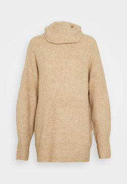 New Look Tall - FASH SLOUCHY ROLL NECK - Trui - camel