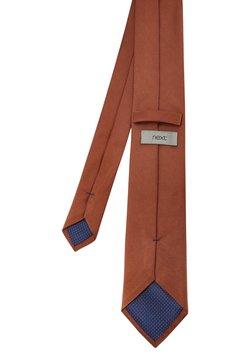 Next - TWILL - Krawatte - orange