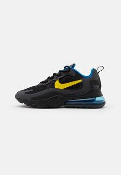 Nike Sportswear - AIR MAX 270 REACT UNISEX - Baskets basses - black/tour yellow/dark grey/blue spark