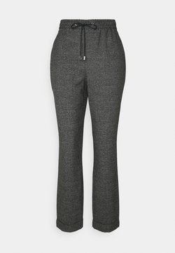 Dorothy Perkins Tall - CHECK FORMAL JOGGER - Stoffhose - grey
