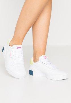 Puma - CALI - Baskets basses - white/luminous pink