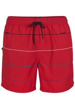 O'Neill - Badeshorts - red with