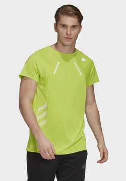 adidas Performance - HEAT.RDY T-SHIRT - Camiseta estampada - green