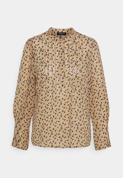 Selected Femme Petite - SLFLIVIA SHELLY  - Camisa - tannin