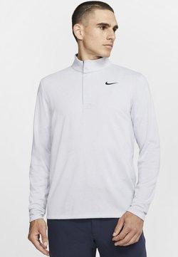 Nike Golf - NIKE DRI-FIT VICTORY HERREN-GOLFOBERTEIL MIT HALBREISSVERSCHLUSS - Sportshirt - sky grey/gridiron/white/gridiron